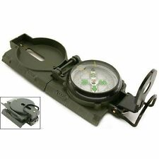 New Military Lensatic Marching Compass Survival Camping # US FREE SHIPPING #