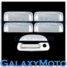 01-05 Ford Explorer Sport Trac Triple Chrome Plated 4 Door handle+Tailgate cover