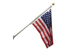 "6' Ft X 1.75"" Hd House Mount Flagpole Porch Flag Pole Usa Made 7yr Warranty 1pc"