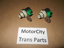 4F27E Transmission Shift Solenoid Set (2) Ford- Mazda 1999-On NEW OEM MOTORCRAFT