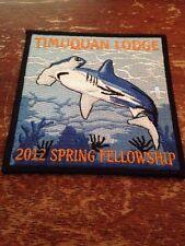 Timuquan Lodge 2012 Spring Fellowship OA Order the Arrow Hammerhead Shark BOXN-2