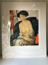 Alain Bonnefoit Signed Limited Edition Lithograph Print 132/175