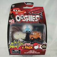 Disney Cars Ooshies 4 pack Series 1 Pencil Toppers New on Card 76454 Pixar
