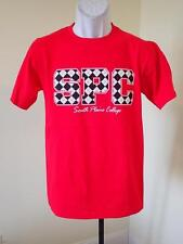 NEW - South Plains College  ADULT Small (S) Red Shirt by J. America