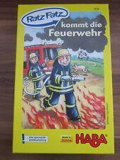 HABA, Ratz Fatz kommt die Feuerwehr, 3-12 Jahre, NEU
