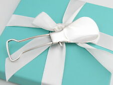 Auth Tiffany & Co Silver Foldable Shoe Horn Box Included