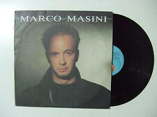 Marco Masini – Marco Masini - Disco Vinile 33 Giri LP Album ITALIA 1990 Pop