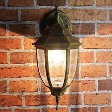 Antik-goldene Wand- Aussenleuchte 8451 Wandlampe Wandleuchte Aussen Hof Lampe
