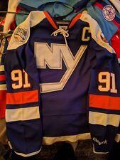 40ee085bf Mens REEBOK New York NY ISLANDERS John TAVARES  91 Stadium Series size 52