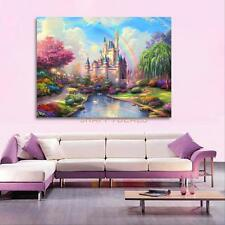 5D DIY Diamond Ancient Castle Embroidery Painting Cross Stitch Home Wall Decor