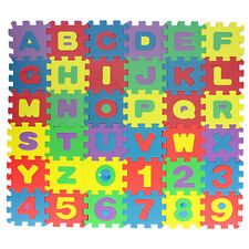 36Pc Kids Alphabet Educational Puzzle Funny Gifts Baby Early Learning Toys