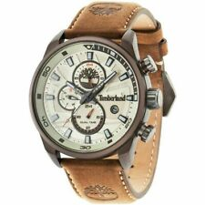 Timberland Henniker II Men's Watch With Brown Leather Strap 14816JLBN/07