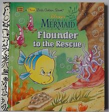 New Disney`s Flounder to the Rescue,  The little mermaid, children's book