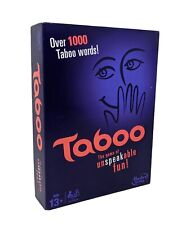 Taboo The Unspeakable Fun By Hasbro 2013 Family Game, Never Been Played With