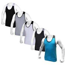 Men Gym Muscle Sleeveless Shirt Tank Top Sport Bodybuilding Sport Fitness Vest