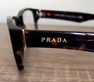 New Eyeglasses Prada Tortoise Gold Authentic