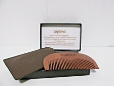 Taylor'd MAN Best Superbly Hand Crafted Wooden Beard Comb for Men