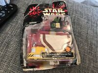 Star Wars Episode 1 Tatooine Accessory Set with Pull-Back Droid 1998 Damage box