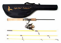 """EAGLE CLAW Trailmaster Travel/Pack 6' 6"""" Spinning Combo #TMM66S4C FREE US SHIP!"""