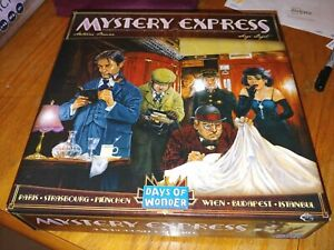 Mystery Express: Board Game - New! Out of Print