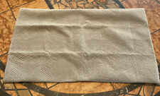Restoration Hardware Velvet Chevron Sham King Size Fog NEW $139