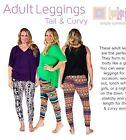 LuLaRoe Tall & Curvy Leggings MYSTERY Pick! New Prints! No Solids! New