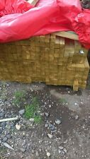 """10 x 2.4m x 2"""" x 2"""" PRESSURE TREATED TIMBER LENGTHS POSTS FENCE RAILS WOOD"""