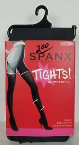 NEW SPANX FH4315 HIGH WAIST LUXE LEG TIGHTS OPAQUE SIZE C CHARCOAL