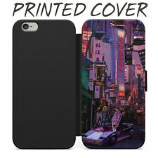 Lambo Japan Retro City Wallet in Card Phone Case Cover