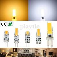 G4 G9 3W 6W 9W Dimmable LED COB Silicon Silica Gel Light Corn Bulb AC/DC12V 220V