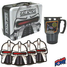 Battlestar Galactica 35TH-ANNIVERSARY Tin Tote Gift Set UK Seller