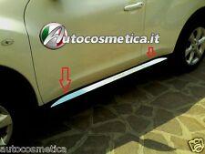 Modanature 4 Profili Acciaio Cromo Minigonne per Nissan Juke 10-19 Made in Italy