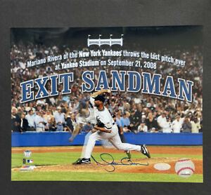 Mariano Rivera Signed Auto 8x10 Yankees - Steiner Hologram Final Game Rare