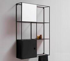 Mensola libreria  in ferro anticato 80x120 stile industriale