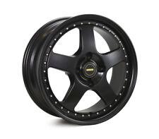 NEW 17x7.0 17x8.5 Simmons FR-1 Satin Black 5/120 P30 Wheel