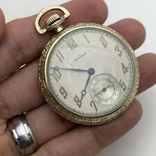 225 12s Model 1894 Running Perfect 17J Waltham 1931 Pocket Watch 14K Gf Grade
