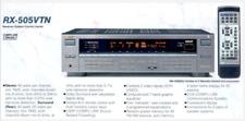 Vintage JVC RX-505VTN Digital Stereo Receiver With OEM Remote Control w/ Box