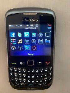 Blackberry Curve 3G 9300 - Graphite gray (AT&T) Smartphone - Read Description