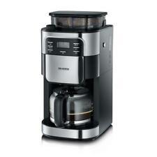 SEVERIN Kaffeeautomat mit Mahlwerk, KA 4810, ca. 1000 W, bis 10 Tassen, LCD