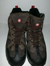 Men's Swiss Gear Work Boots Round Tow Size 12