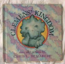 Vintage 1983 Clemens' Kingdom Chris L. Demerest Hardback Book Weekly Reader BCE