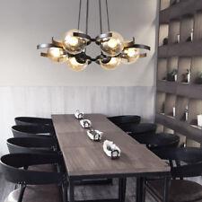 Kitchen Pendant Light Glass Lamp Modern Ceiling Lights Black Chandelier Lighting