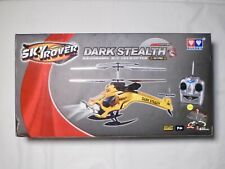Sky Rover Dark Stealth 3.5 channel R/C Gyro Helicopter. NEW in box.