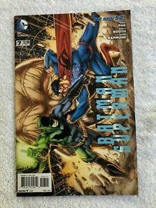 Batman / Superman #7 (Mar 2014, DC) Booth Variant VF+ 8.5