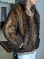 New Zealand Opossum Reversible Coat Beautiful Condition Size Medium (1980's)