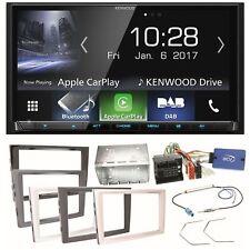 Kenwood Dmx-7017dabs Bluetooth Einbauset für T5 CARAVELLE MULTIVAN Transporter