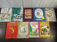"VIntage ""An I Can Read Book"" Lot of 9 Softcover Books Ages 4 - 8 1970's~1980's"