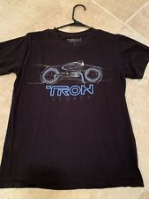 Tron Legacy T Shirt Black Bike Helmet Small Sm S