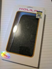 HOLILA iPhone 6 7 8 SE Protective PU Leather Flip Case Cover with Stand Function