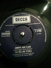 "The Rolling Stones – Jumpin' Jack Flash Vinyl 7"" Single UK F 12782 UK 1968"